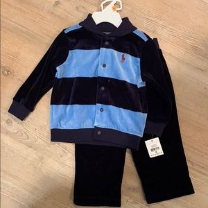 NEW WITH TAGS 12mo Ralph Lauren outfit